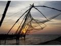 Chinese Fishing Nets, Cochin by Peter Ergis LRPS