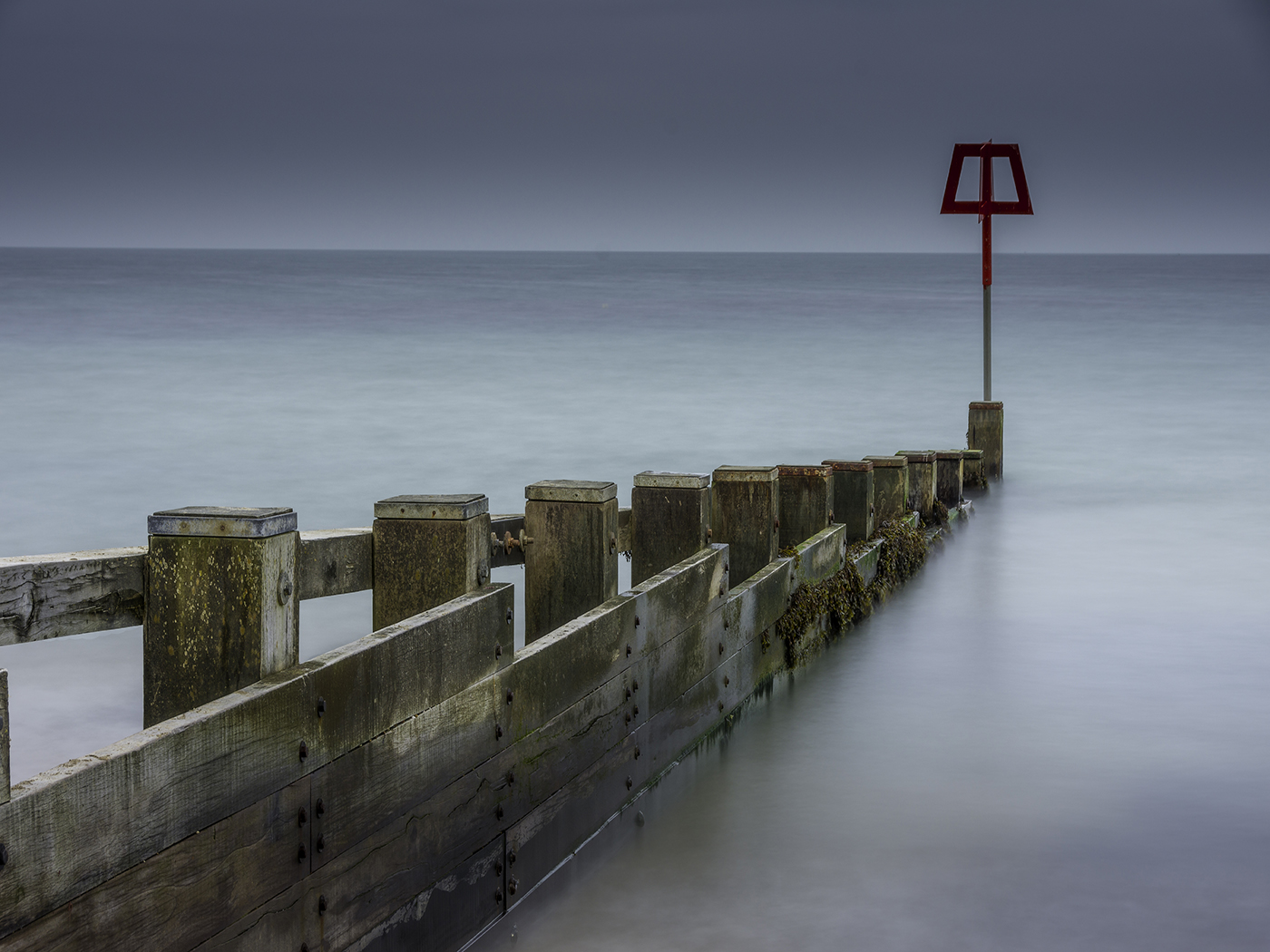 Swanage Groyne by Clive Williams