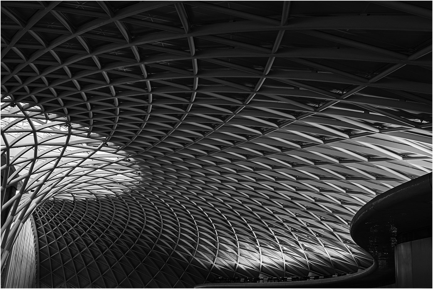 Sweeping Lines by Paul Whitmarsh