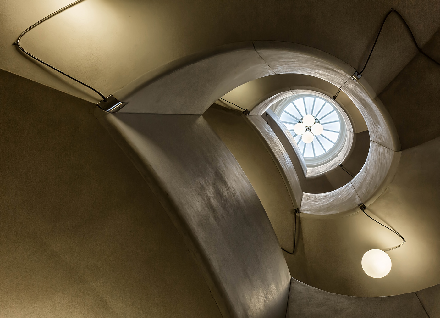 Staircase at Tate Britain by Vera Stevens
